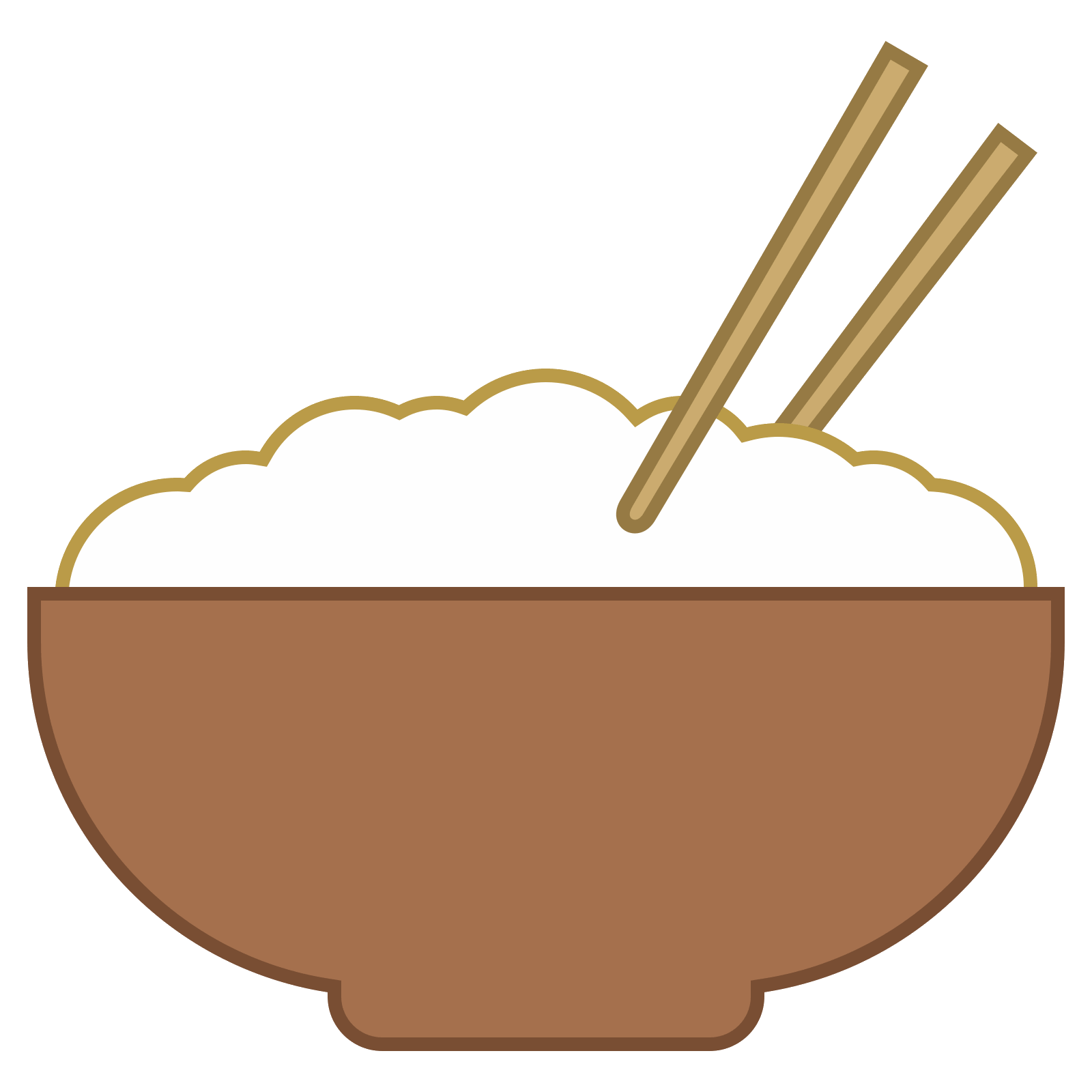 vector free library Rice vector. Miska ry u icon