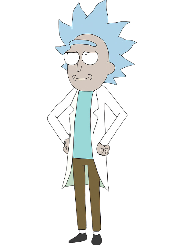 banner free download rick transparent character #115348905