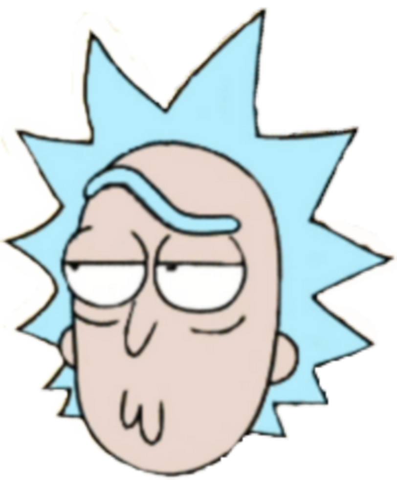 jpg freeuse download rick transparent face #115348992