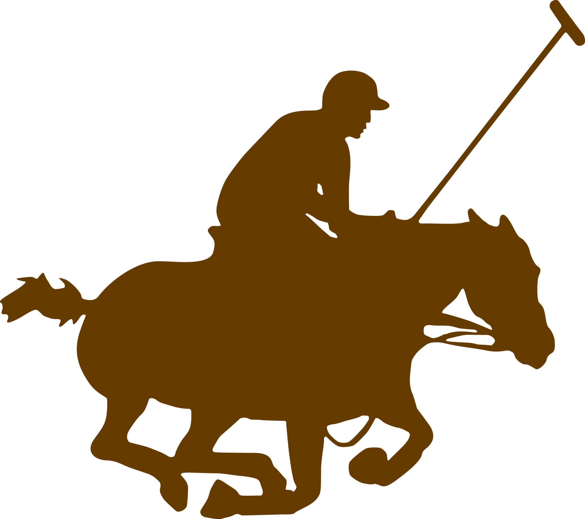 banner library library Horse polo free on. Riding clipart.