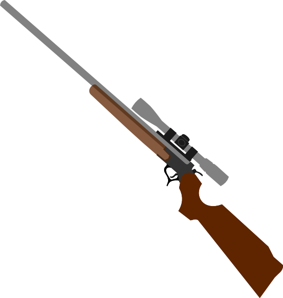 png freeuse Sniper . Rifle clipart.