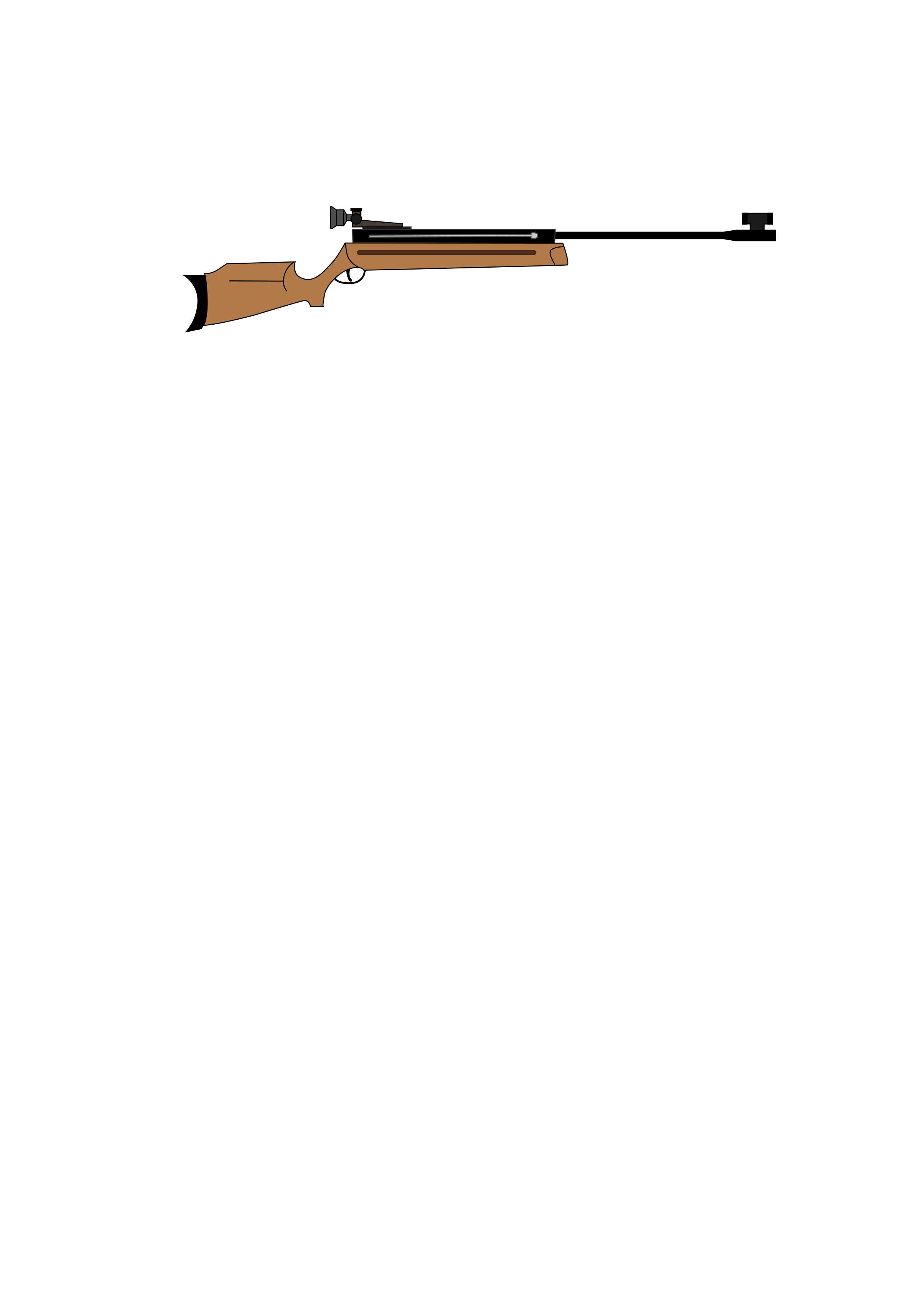 clipart library library Air big image png. Rifle clipart.