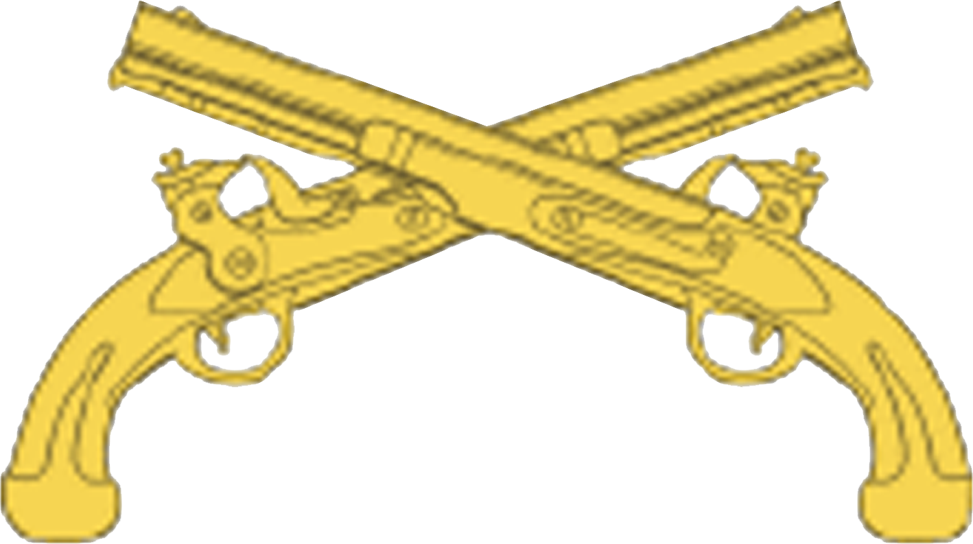 png library File usampc branch insignia. Us army infantry crossed rifles clipart
