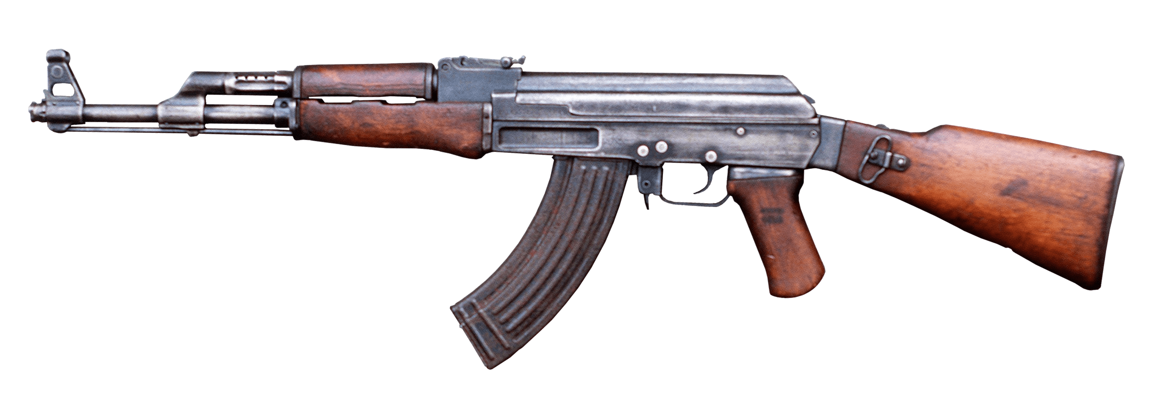 vector black and white library Ak png stickpng miscellaneous. Transparent ak47