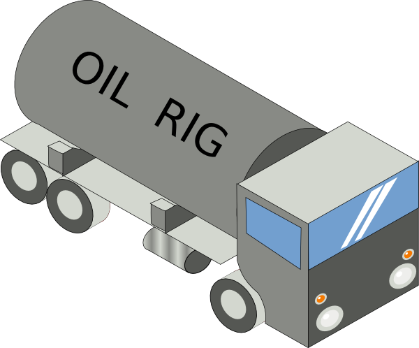 picture black and white download Rig clipart. Oil clip art at.