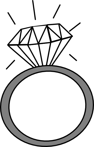 clip art royalty free stock Silhouette Wedding Ring at GetDrawings