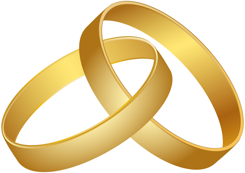 image transparent download Wedding Rings Gold PNG Clip Art