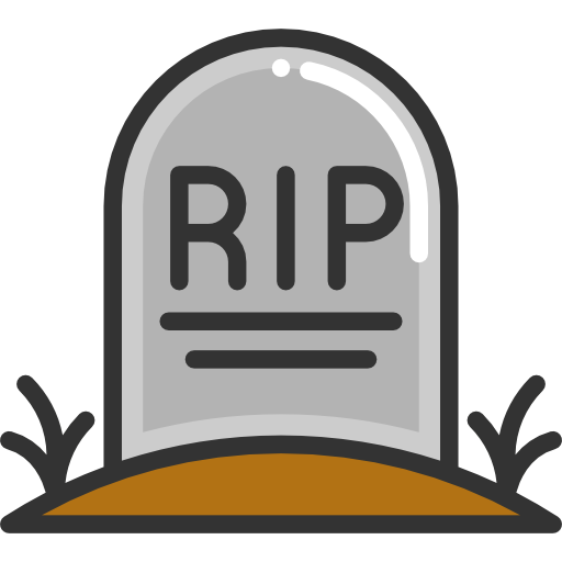 vector royalty free library Grave clipart mortality. Death rip free on