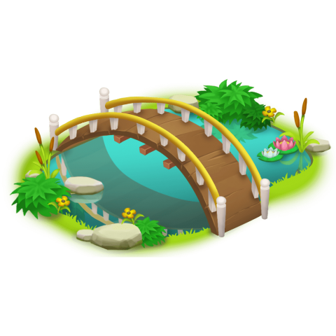 jpg royalty free Small bridge png free. River clipart canal.