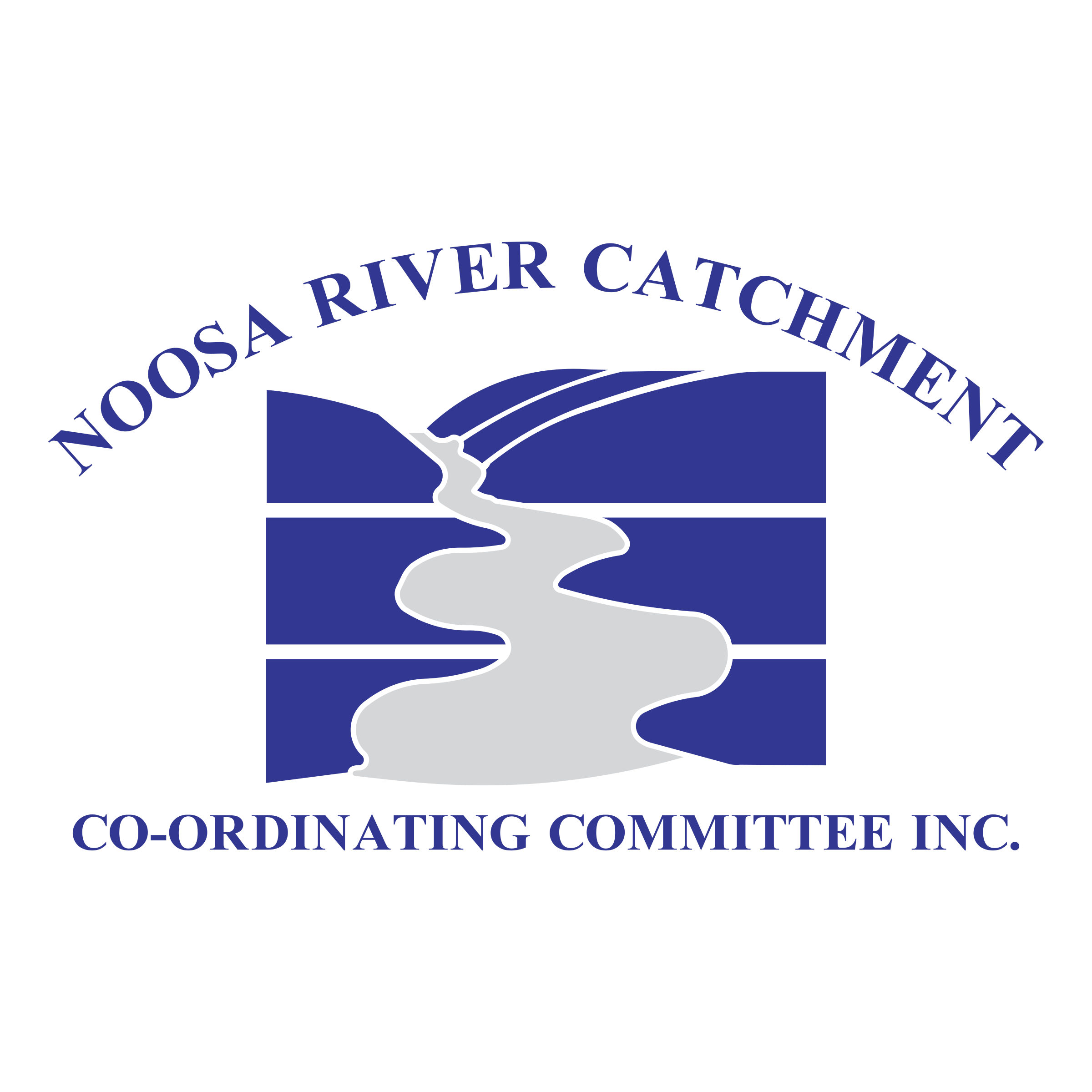 clip black and white library Noosa River Catchment Logo PNG Transparent