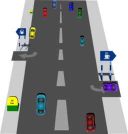 image black and white Road clipart. I royalty free public.