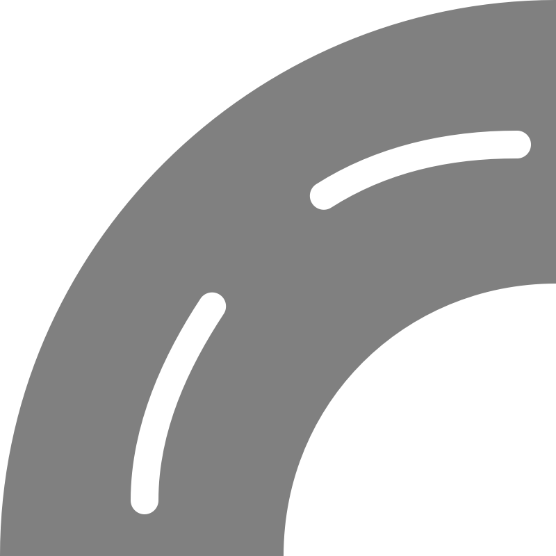picture freeuse library Curve Road Clipart Black And White