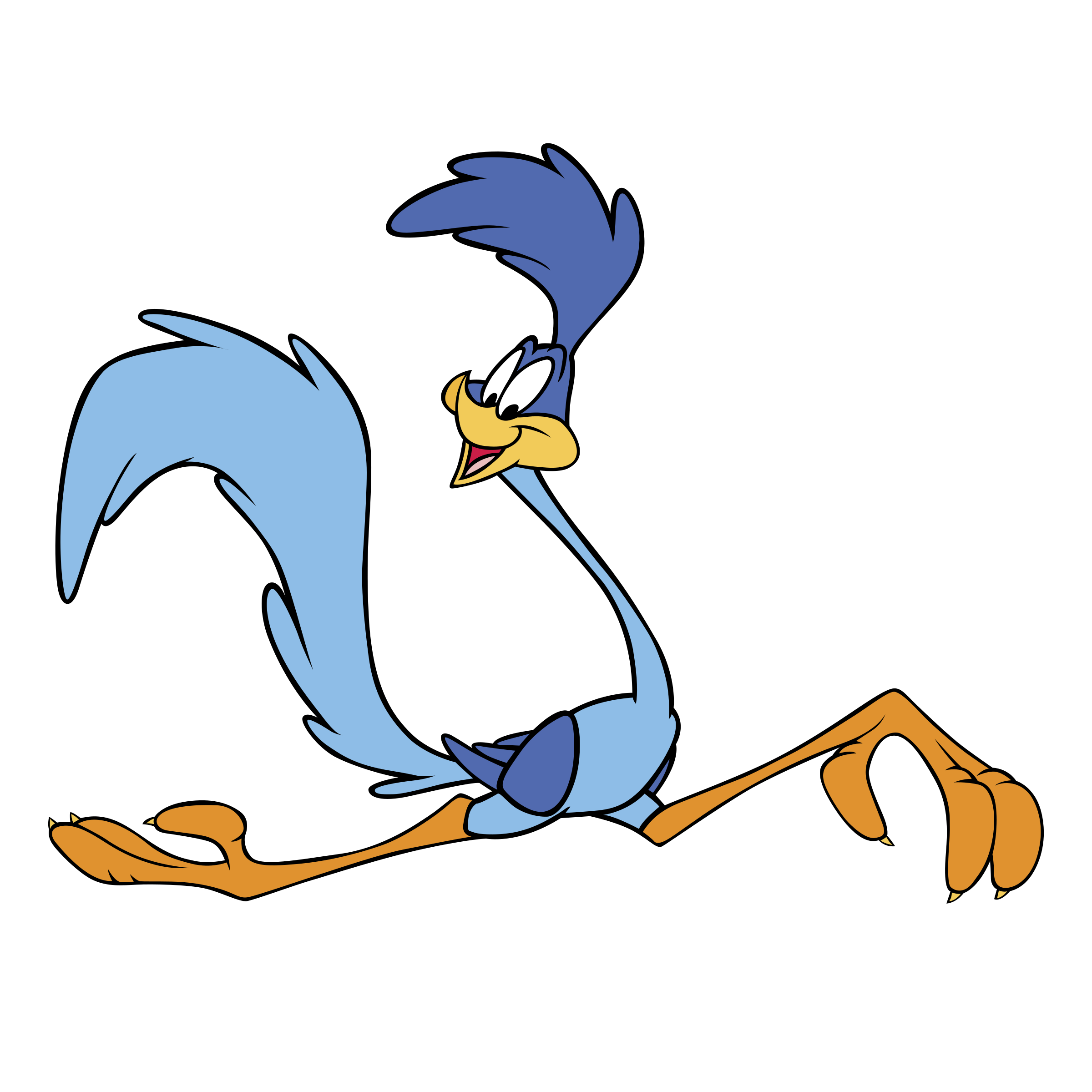 banner freeuse Roadrunner clipart. Transparent free on dumielauxepices.
