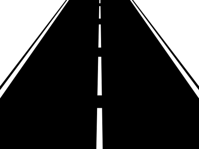 clip art freeuse library Highway vertical road free. Roads clipart.