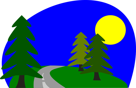 clipart royalty free download Roadway Clipart road scene