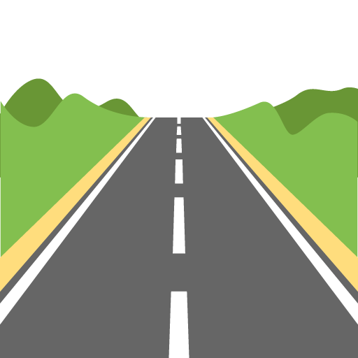 graphic black and white download Road PNG