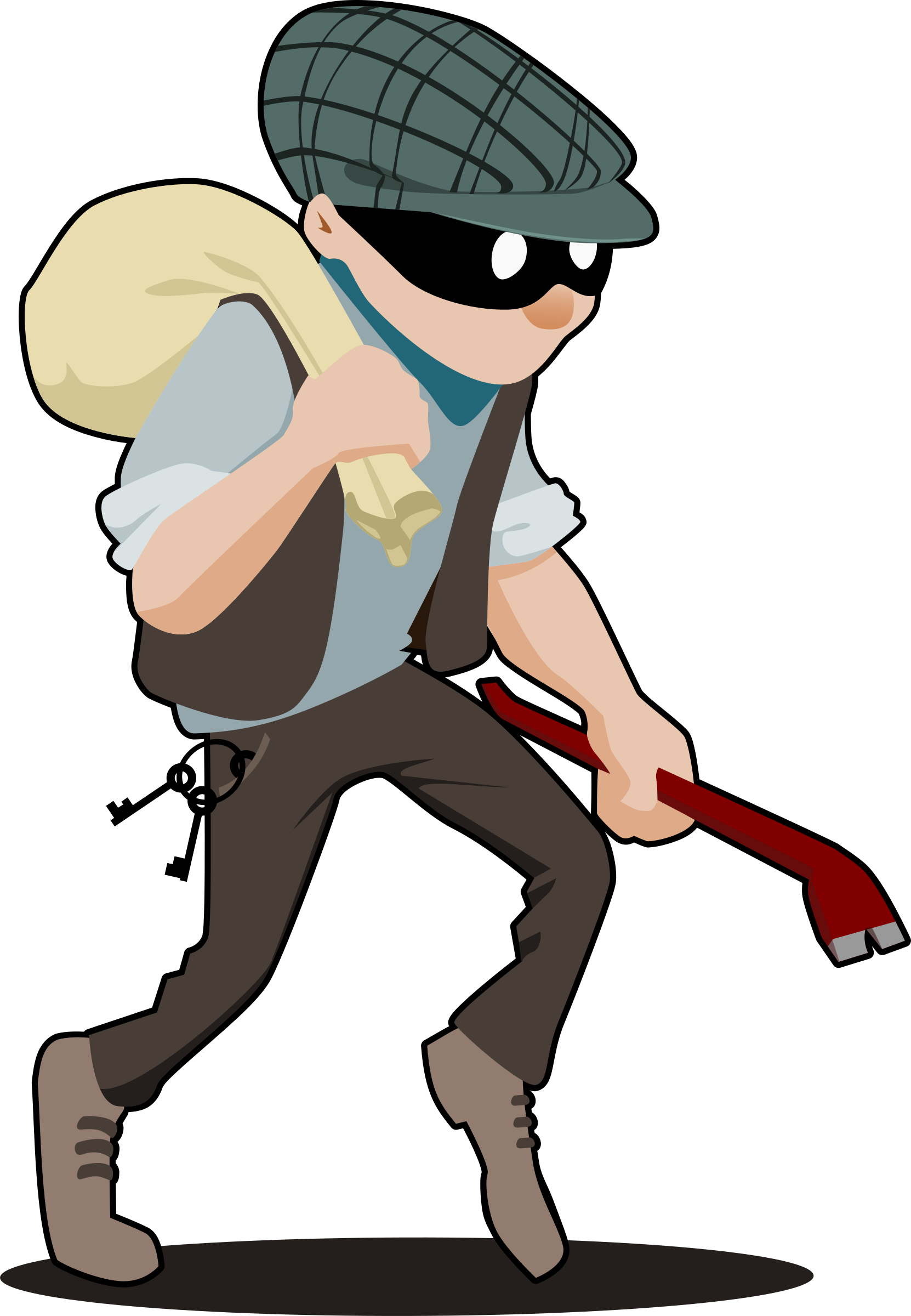 clipart library Robber clipart. Burglar big image png.
