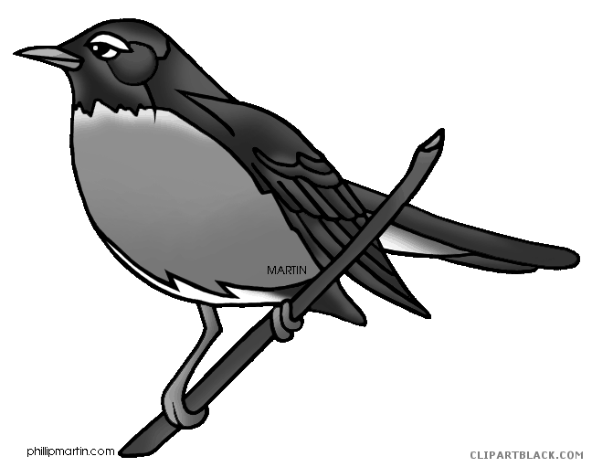clip art transparent library Robin clipart black and white. Page of clipartblack com