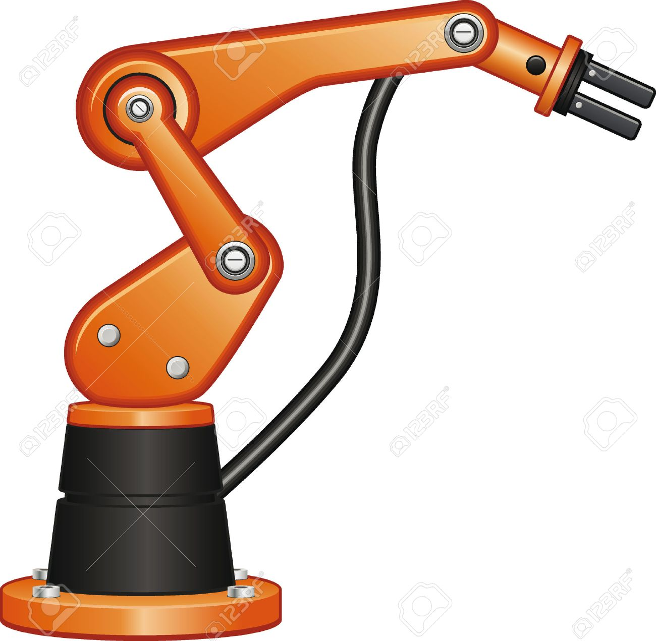 picture download Robot arm clipart. Station .