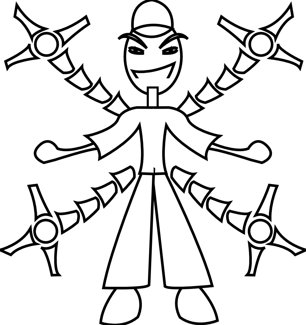 clip art free Clipartist net clip art. Robot arm clipart.
