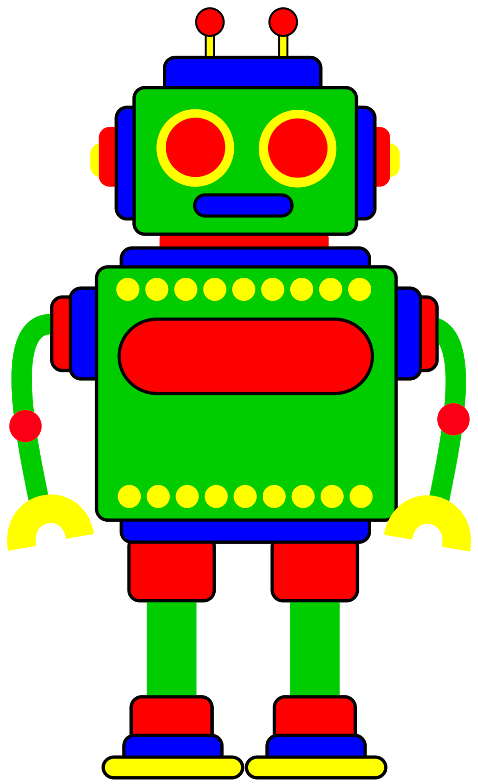 image royalty free download Robot clipart for your project or classroom