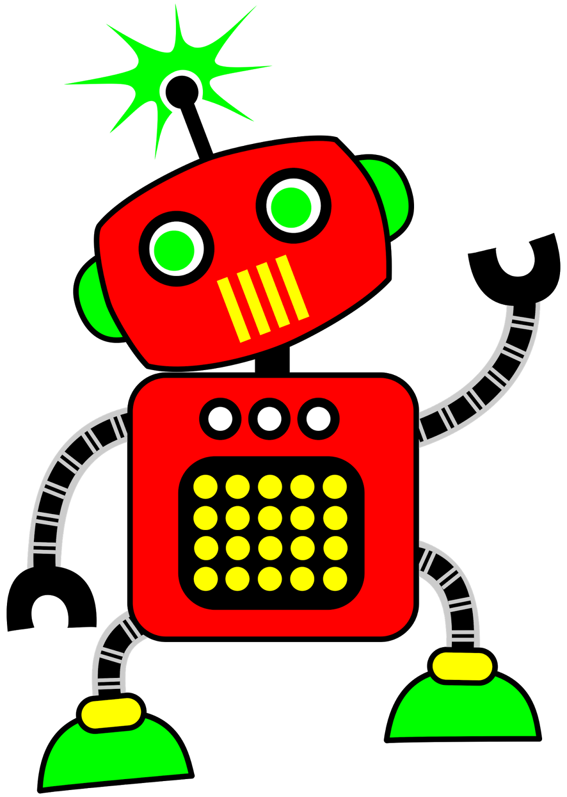 png library stock Classroom treasures. Robot clipart.