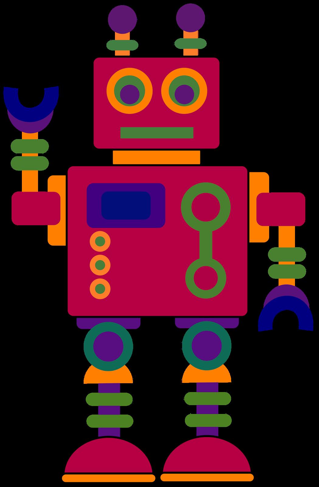 transparent library Robot clipart. Classroom treasures clip art.