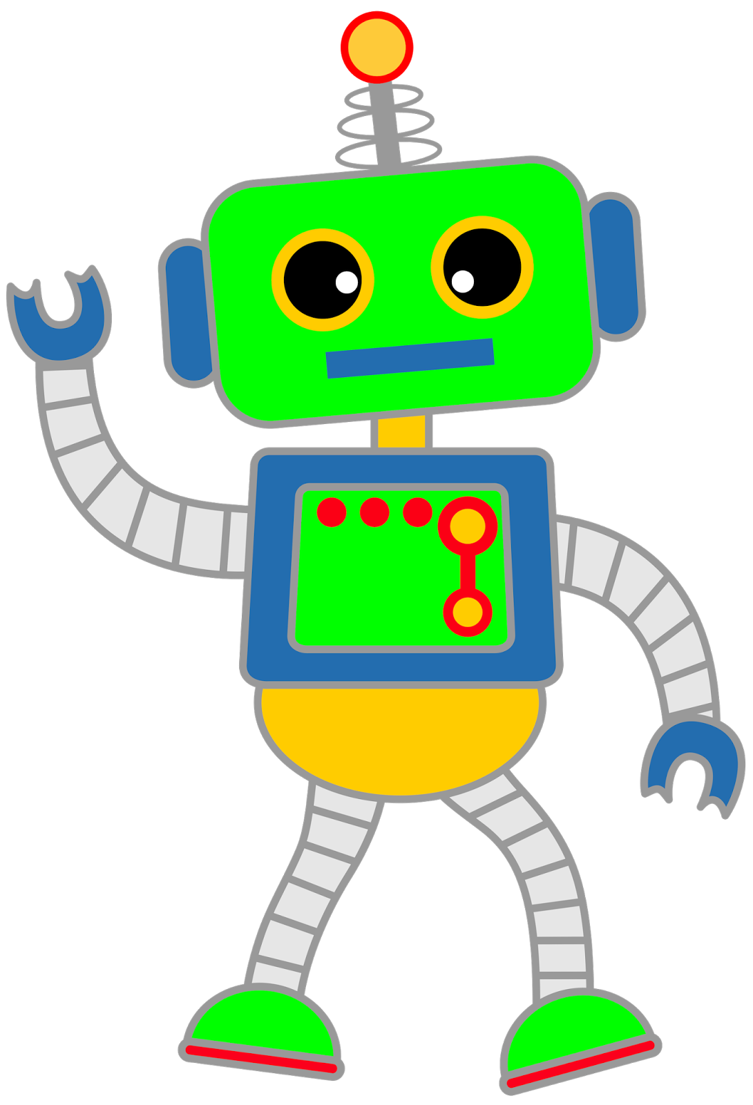 picture transparent A selection of robots. Bolt clipart pop art