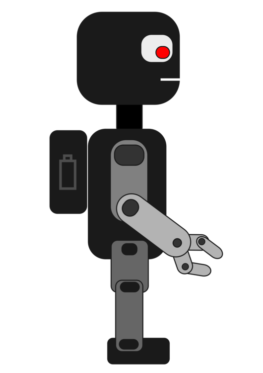 vector library download Robot competition computer icons. Robotic arm clipart.