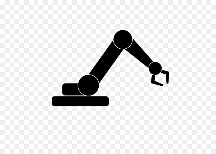 vector royalty free stock Industrial robot best robotics. Robotic arm clipart.