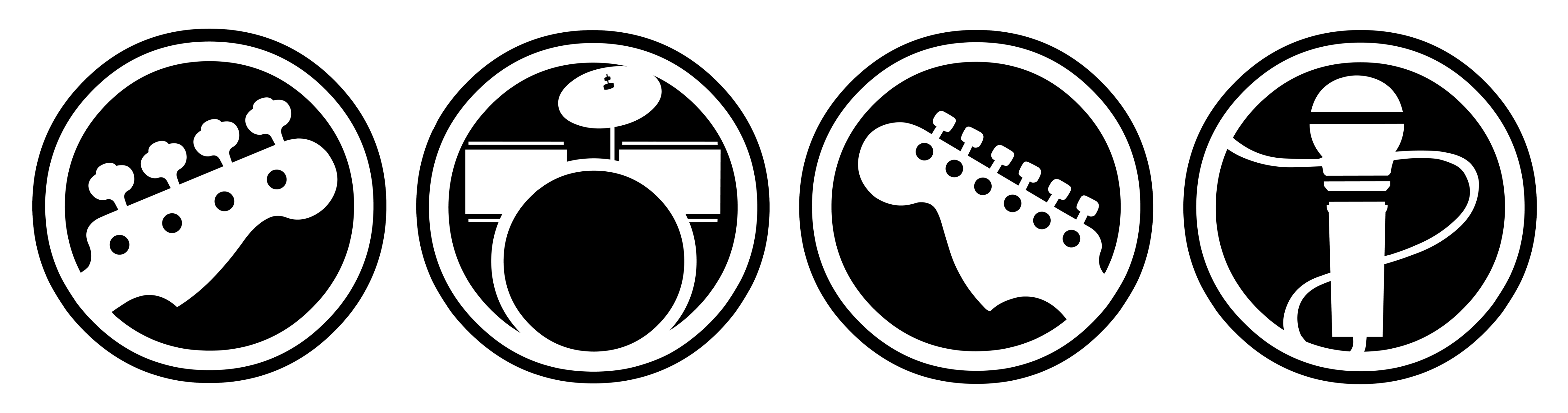 clipart free library rock band harmonix drums set