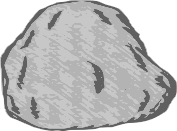 clipart transparent library Large . Rock clipart.