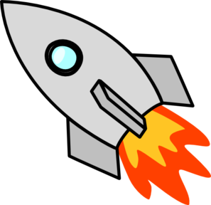 graphic library Rocket Clip Art