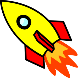 svg royalty free library Rocket Clip Art at Clker