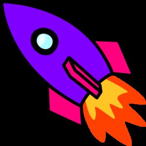 picture free Rocket clipart. Purple .