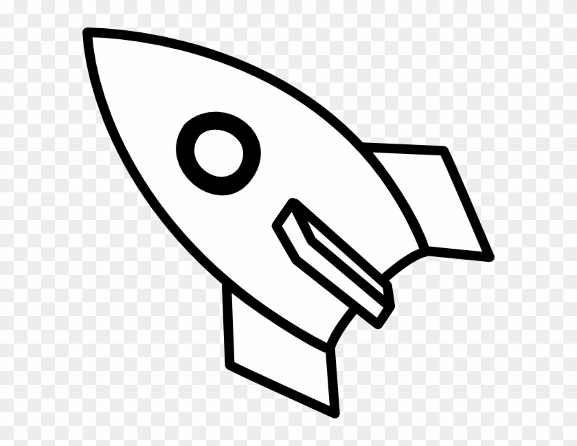 clip Rocket ship around planet. Rocketship clipart black and white