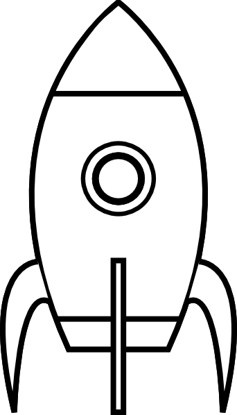 image black and white download Rocketship clipart black and white. Rocket clip art at