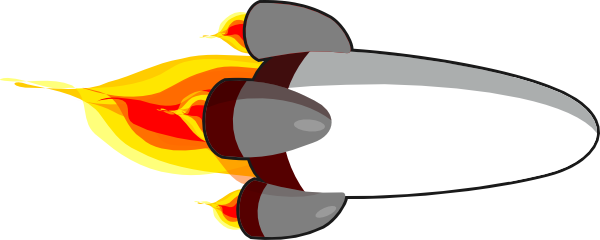 jpg black and white library Rocket Ship Transparent PNG Pictures
