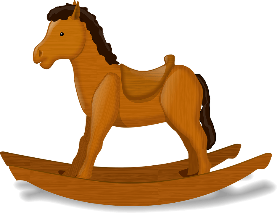 jpg free library Horse png photos. Rocking clipart.