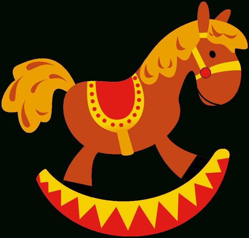 image free stock Rocking Horse Clipart