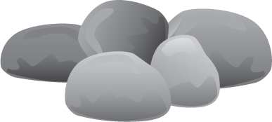 banner library stock Rock river free on. Rocks clipart