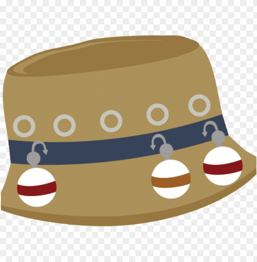 svg library library Transparent background . Rod clipart fishing hat.