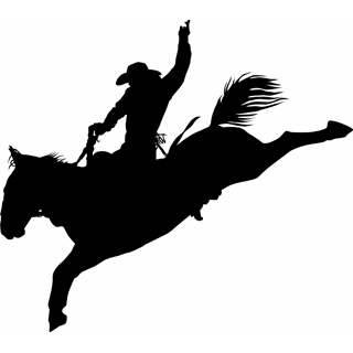 picture black and white download Free cliparts download clip. Rodeo clipart.