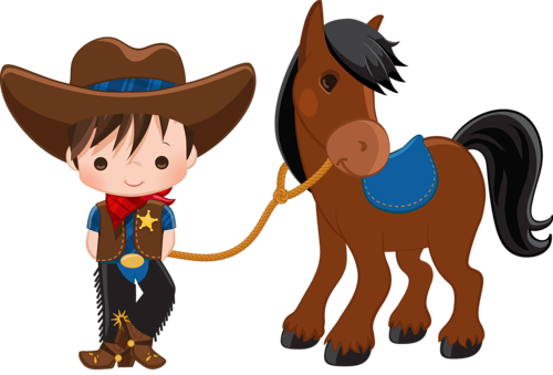 picture freeuse Western themed clipart. Cowboy e cowgirl vaquero