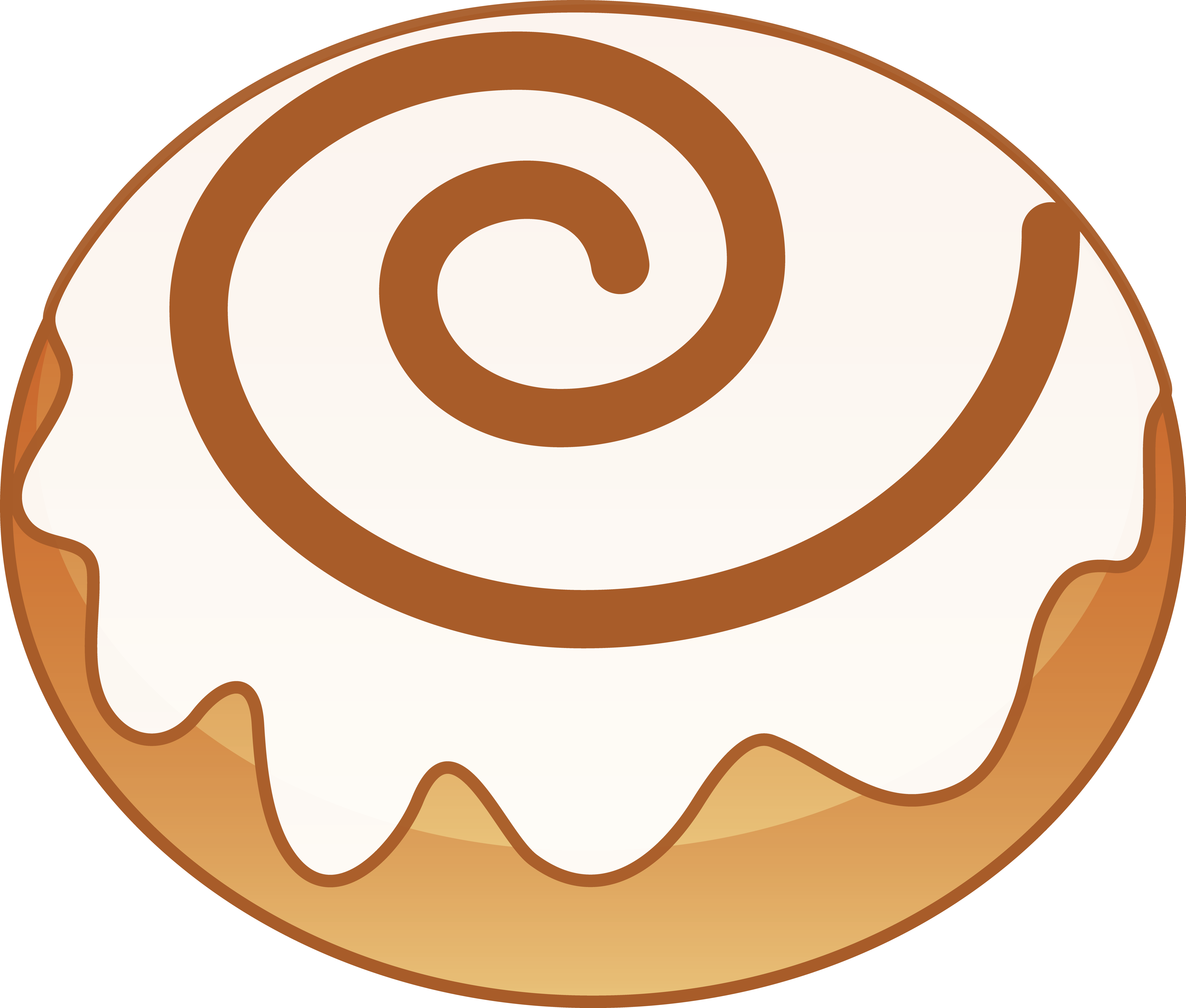 banner free library Cinnamon . Roll clipart