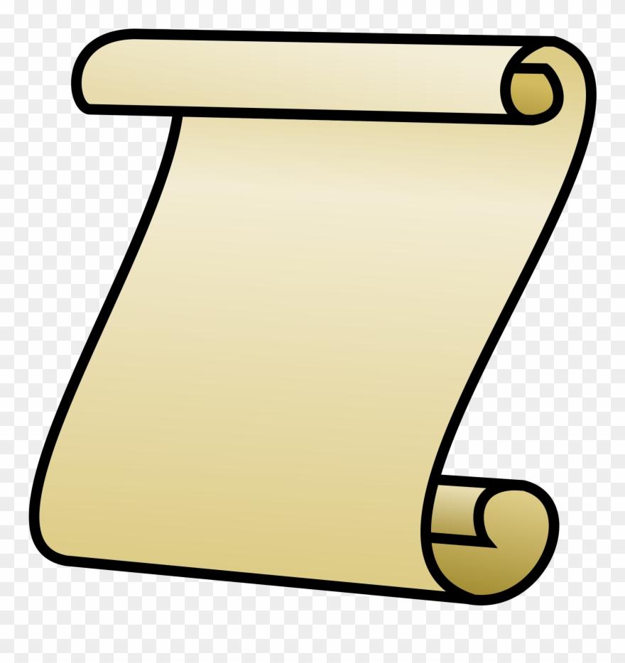 jpg stock Paper papyrus clip art. Roll clipart