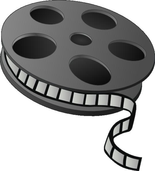 svg transparent stock Movie Film Roll Clipart