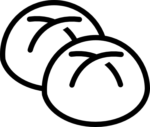 clipart freeuse library Bread Roll Clipart hot bread