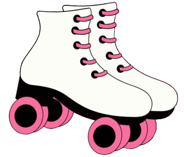 jpg freeuse library Pin Printable Roller Skate Stencil Welcome Skates Cake On Pinterest
