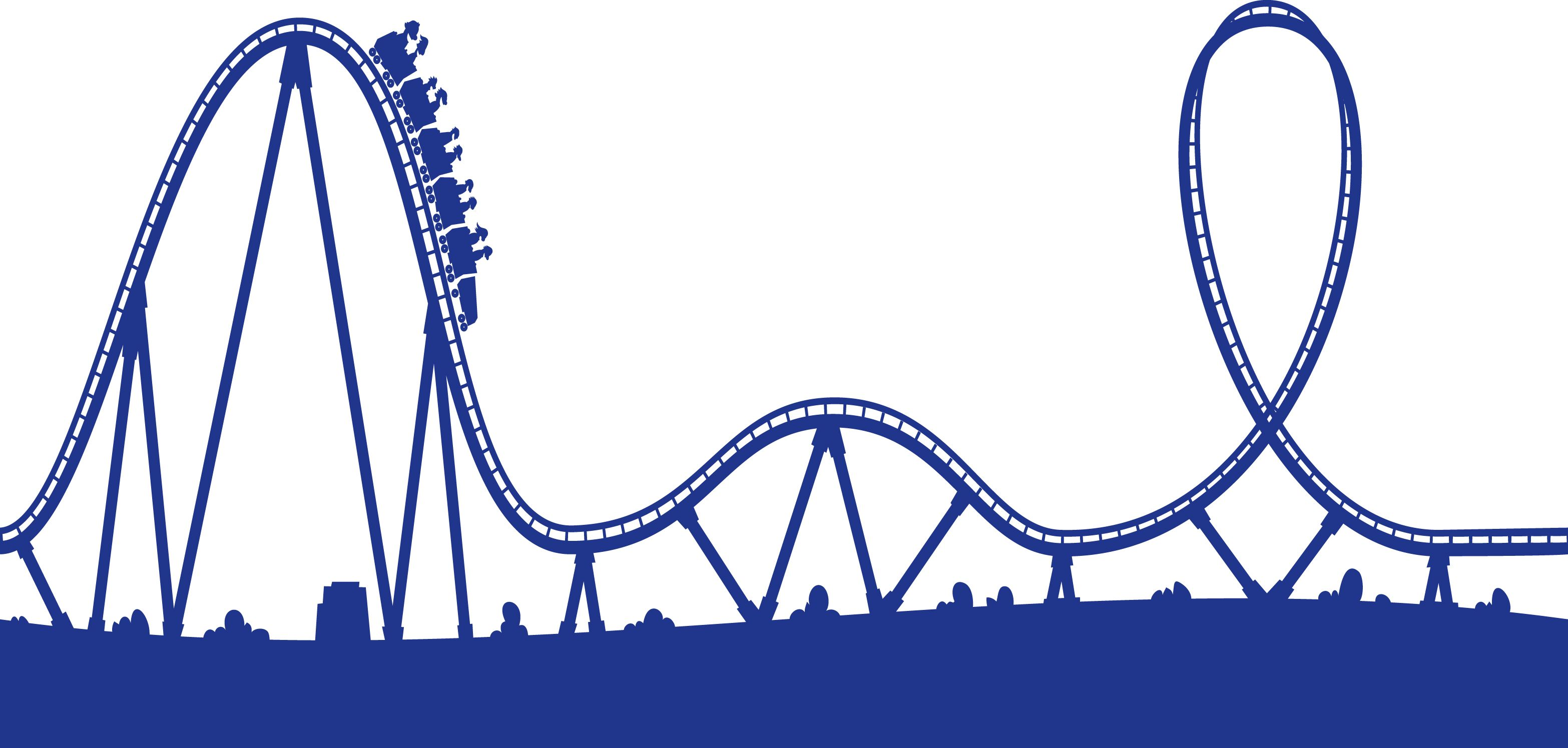 jpg transparent stock Rollercoaster clipart. The cryptocurrency roller coster.